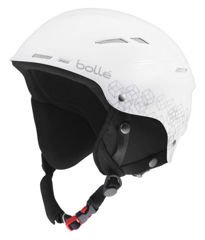 KASK BOLLE B-RENT SHINY WHITE&SILVER