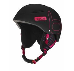 Kask BOLLE B-STYLE Soft  Black & Pink